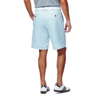 Men's Haggar® Cool 18® Plain-Front Microfiber Performance Shorts