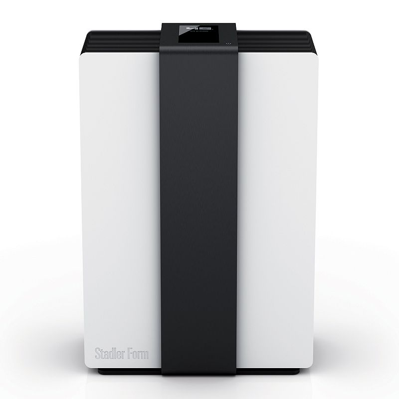 Stadler Form Robert Humidifier & Air Purifier, White For cleaner, fresher air indoors, try this two-in-one Stadler Form Robert humidifier and air purifier. High-capacity reservoir accomodates large-sized rooms. Water cube keeps water free from mold and bacteria. Optimizes air flow in rooms up to 860 square feet. Humidifier evaporates up to 3.5 gallons of water per day. Four settings let you customize output. Touch display and motion sensor ensure easy use. Night mode and auto shutoff add convenience. 18.5H x 12.6W x 9.25D Weight: 17 lbs. 7 to 30 watts For rooms up to 860 sq. ft. Manufacturer's 1-year limited warrantyFor warranty information please click here Model no. A-200  Size: One Size. Color: White. Gender: unisex. Age Group: adult.