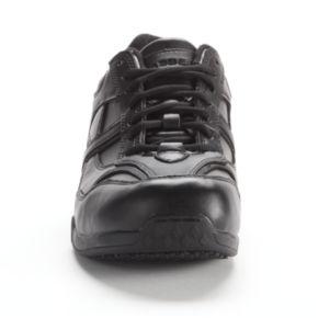 Grabbers Calypso Men's Slip-Resistant Euro Oxford Work Shoes