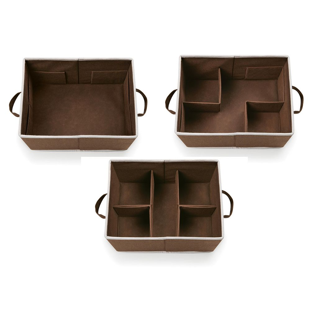 Badger Basket 2-pc. Foldable Storage Baskets