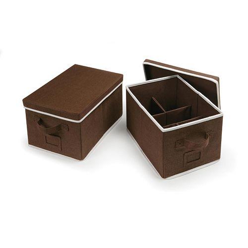 Badger Basket 2-pc. Foldable Storage Baskets