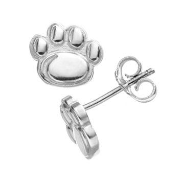 Dayna U Penn State Nittany Lions Sterling Silver Logo Stud Earrings