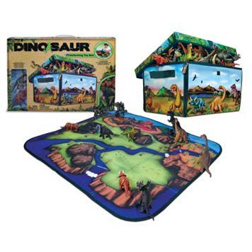 Neat-Oh! ZipBin Dinosaur Transforming Toy Box & Playset