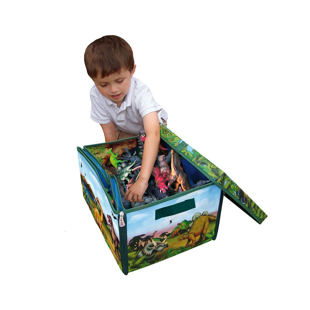 Neat-Oh! ZipBin Dinosaur Transforming Toy Box and Playset