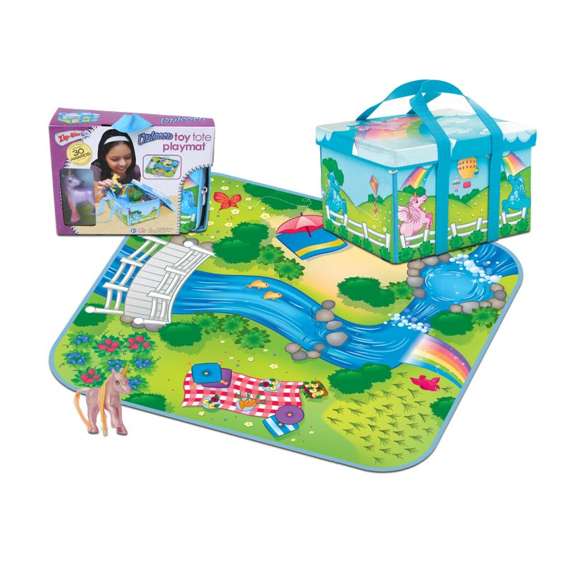 Neat-Oh! ZipBin Princess Mini Unicorn Playset, Multicolor