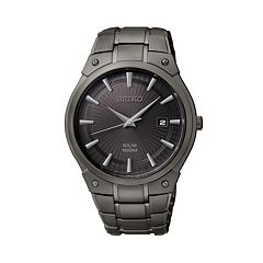 Seiko Men's Stainless Steel Solar Watch - SNE325