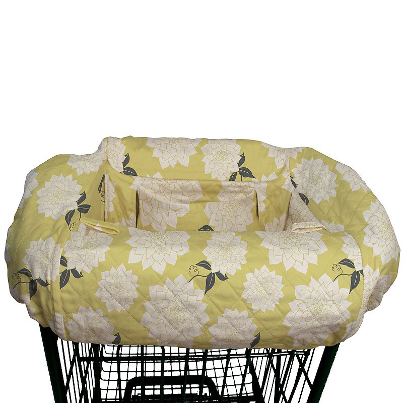 The Peanut Shell Shopping Cart Cover, Multicolor Doubles as a high chair cover Built-in seat belt Toy loops Folds into small pouch Fits most standard shopping carts Cotton/spandex Machine wash Imported Size: One Size. Color: Multicolor. Gender: Unisex. Age Group: Infant. Material: Spandex/Cotton.
