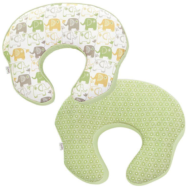 Comfort and Harmony mombo Deluxe Nursing Pillow - Enchanting Elephants