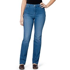 59feee8c083 Women's Gloria Vanderbilt Amanda Classic High Waisted Tapered Jeans