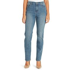 d16013baf212e Women's Gloria Vanderbilt Amanda Classic High Waisted Tapered Jeans. Black  Perfect Khaki Scottsdale Portland Vintage White Rinse Noir Callisto Wash ...
