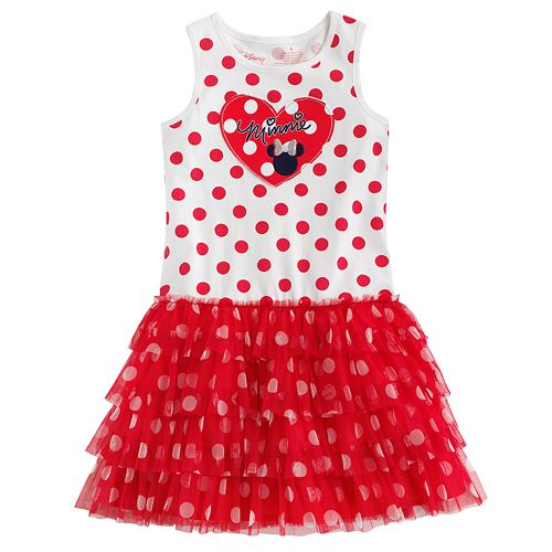 Disney Minnie Mouse Polka-Dot Tutu Dress by Jumping Beans® - Girls 4-7