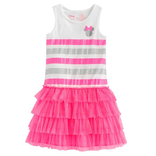 Disney Minnie Mouse Striped Tutu Dress by Jumping Beans® - Girls 4-7