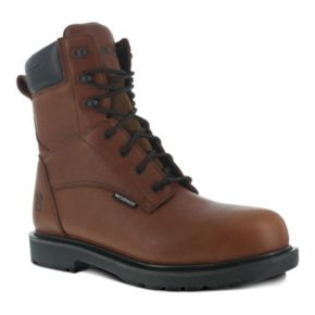 Iron Age Men's Steel-Toe Waterproof Work Boots