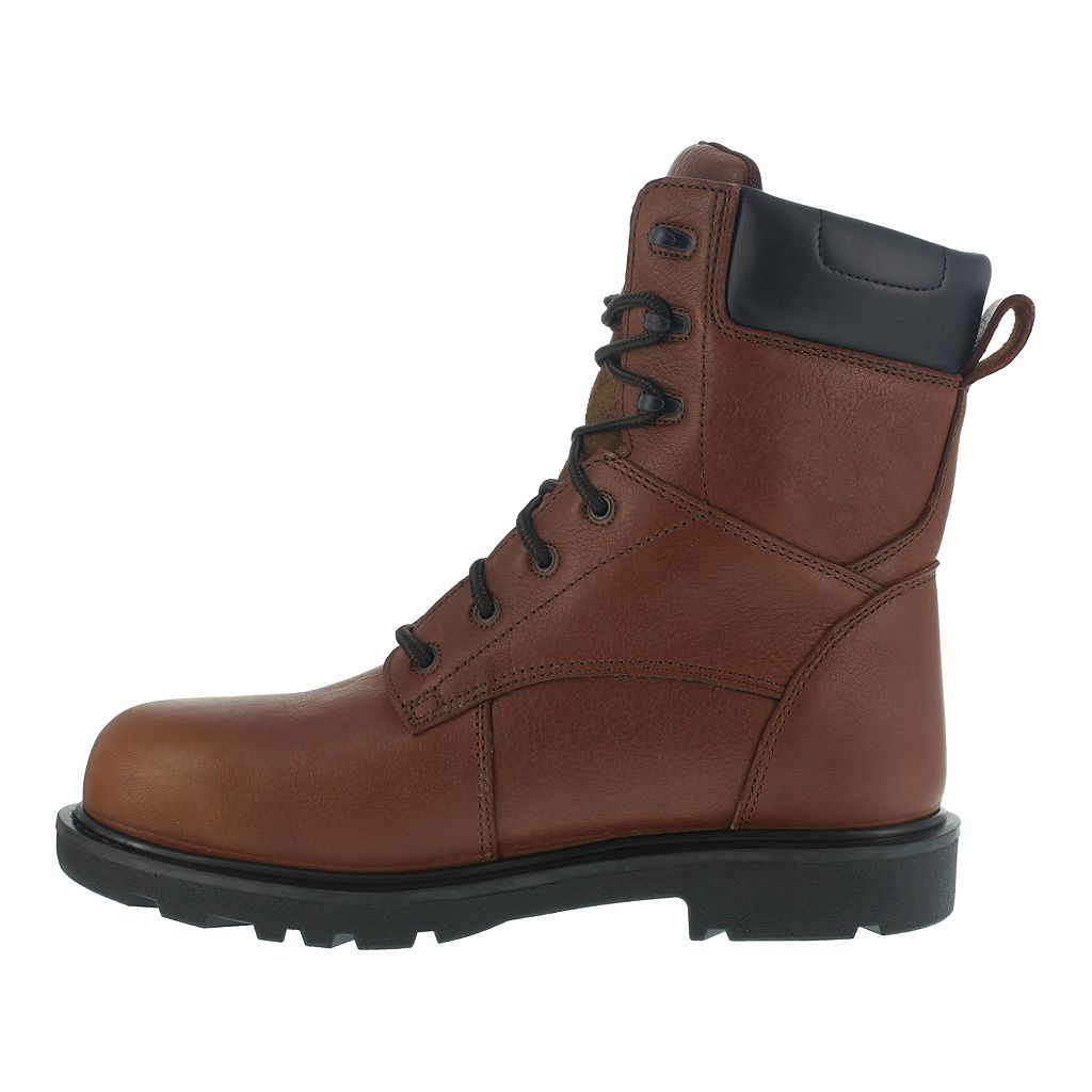Iron Age Men's Steel-Toe Waterproof Work Boots