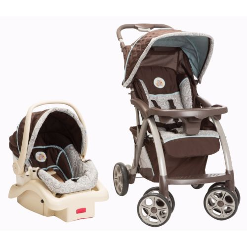 Disney Winnie the Pooh and Friends Saunter Luxe Travel System by Safety 1st