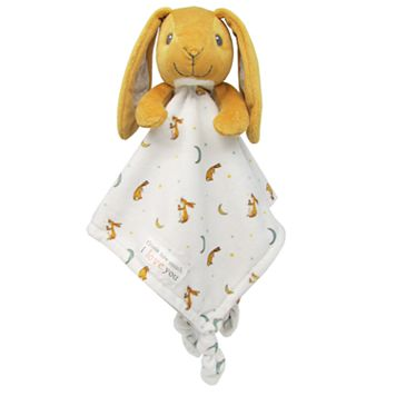 Guess How Much I Love You Nutbrown Hare Plush Security Blanket