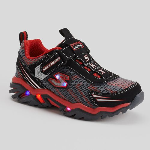 c3eb14c286be Skechers Pillar 2.0 Boys  Light-Up Running Shoes