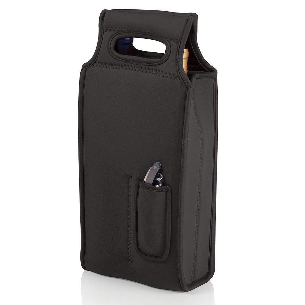 Picnic Time Samba 2-Bottle Insulated Wine Tote