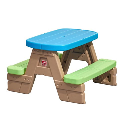Miraculous Step2 Sit Play Jr Picnic Table Gmtry Best Dining Table And Chair Ideas Images Gmtryco