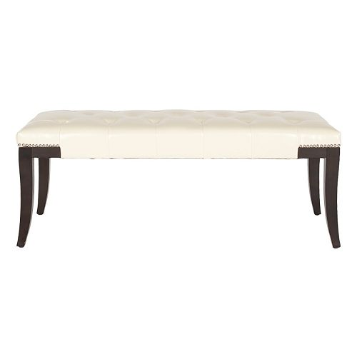 Safavieh Gibbons Faux-Leather Bench