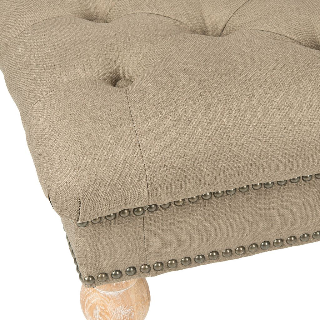 Safavieh Barney Linen Bench