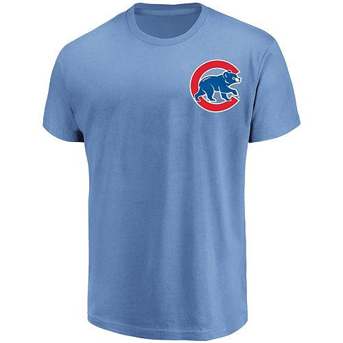 Men's Majestic Chicago Cubs Official Wordmark Tee