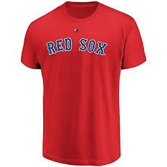 Men's Majestic Boston Red Sox Official Wordmark Tee