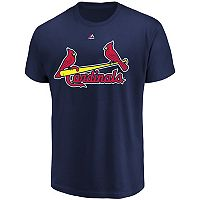 Men's Majestic St. Louis Cardinals Official Wordmark Tee