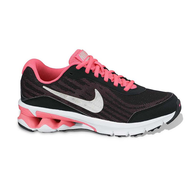 new concept 76db5 946f8 Nike Black Reax Run 9 Running Shoes   Grade School Girls