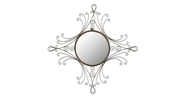 Safavieh maltese wall mirror for Miroir youtubeuse