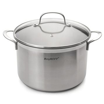 BergHOFF Bistro 6.3-qt. Stainless Steel Covered Stockpot