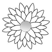 Safavieh Chrysanthemum Wall Mirror