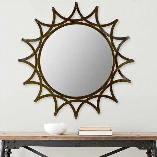 Safavieh Inca Sun Wall Mirror Regular