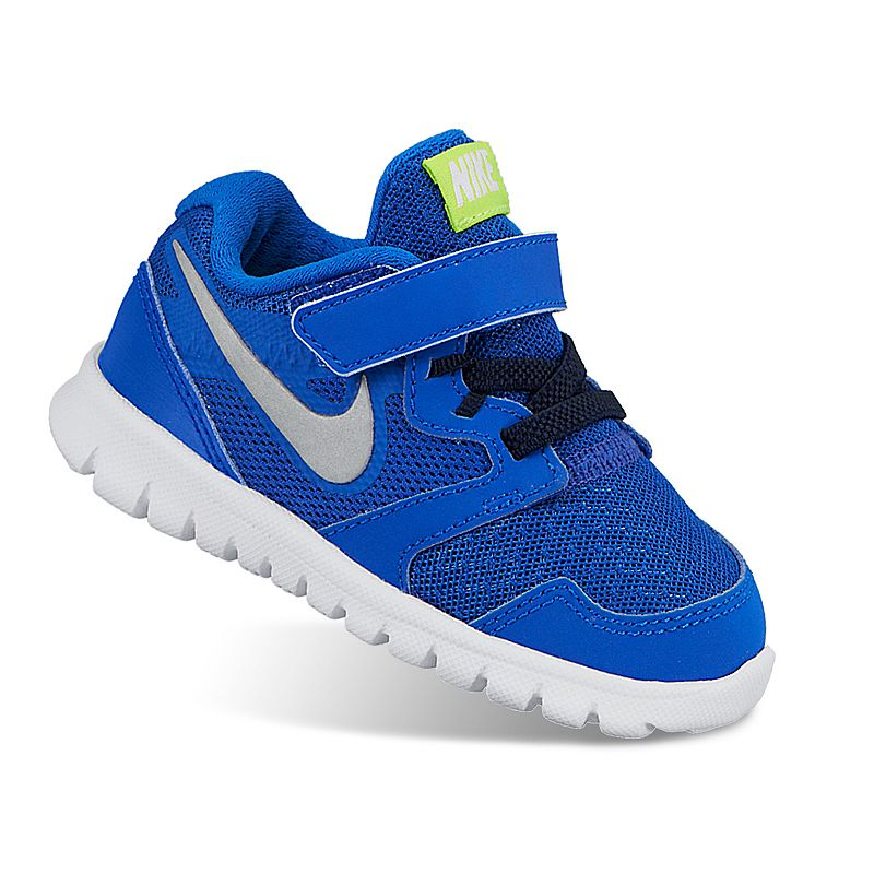 Nike Blue Flex Experience 3 Running Shoes - Toddler Boys
