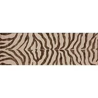 nuLOOM Earth Radiant Zebra Rug Runner - 2'3