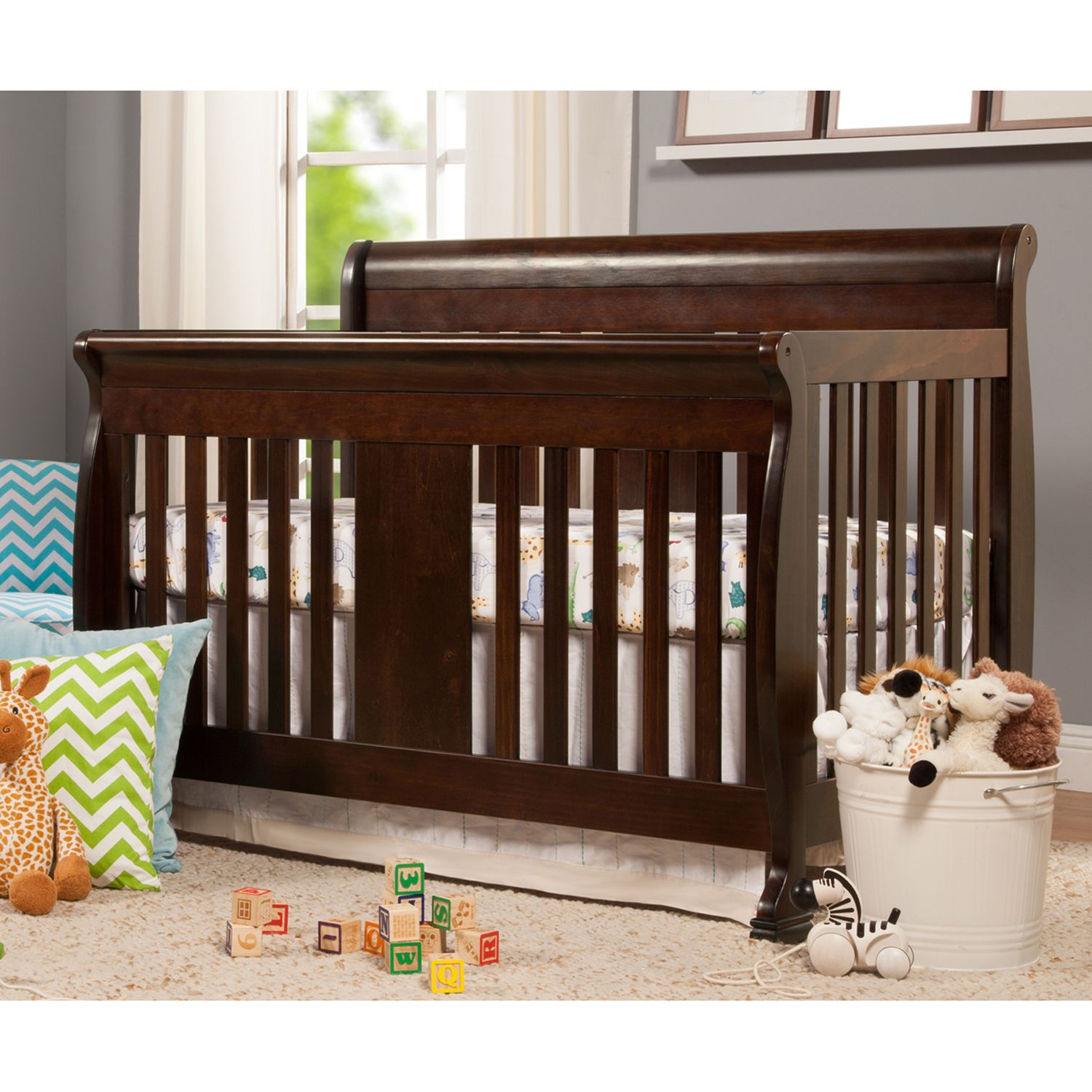 davinci porter 4in1 convertible crib
