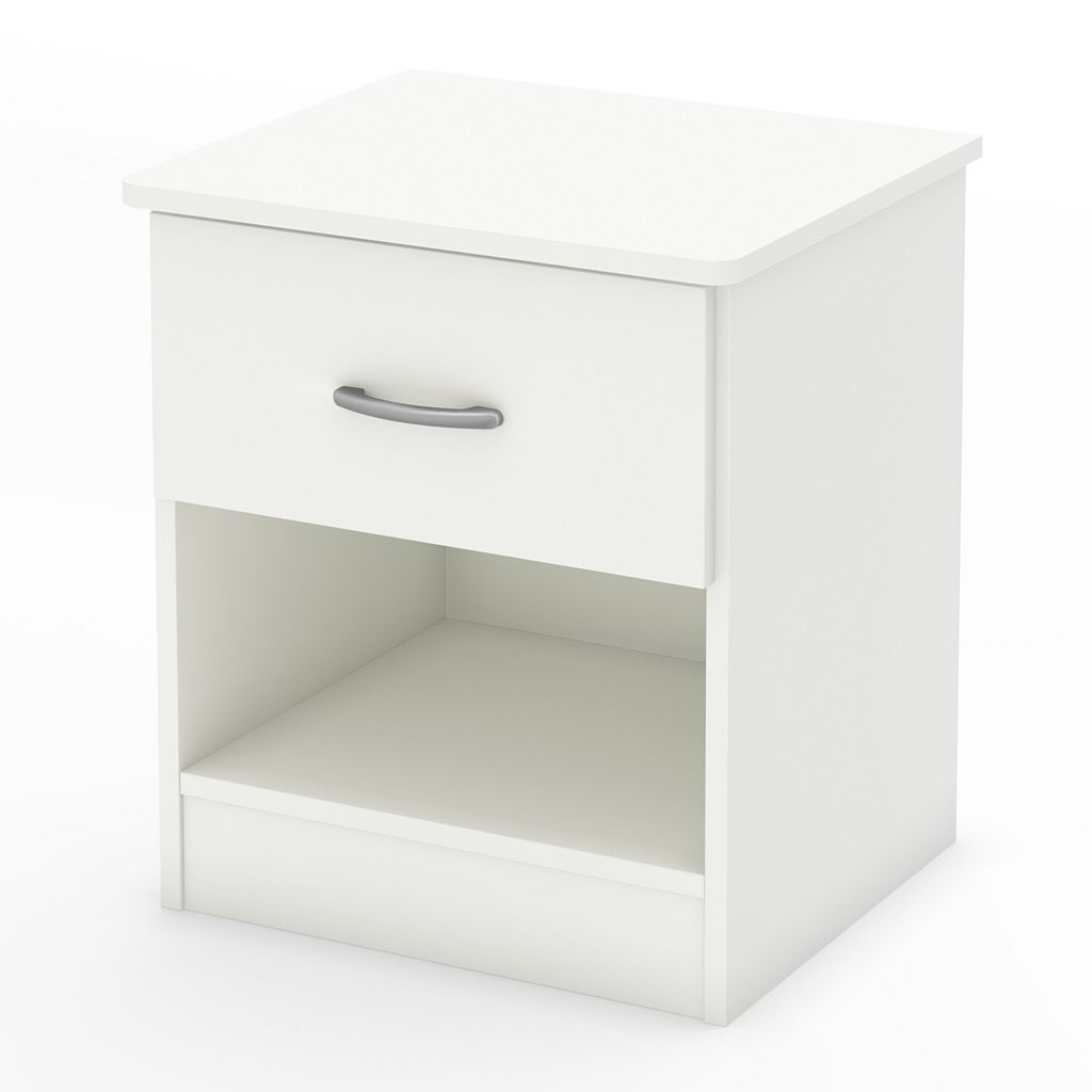 South Shore Libra 1-Drawer Nightstand