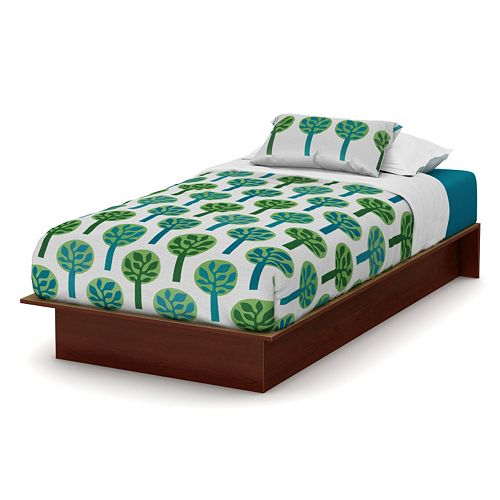 South Shore Cherry Finish Twin Platform Bed
