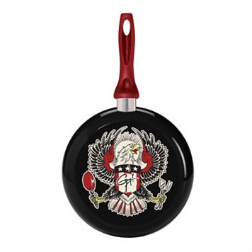 Guy Fieri Deco Eagle 9.5-in. Nonstick Skillet