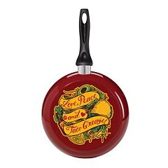 Guy Fieri Deco 'Taco Grease' 9.5 in Nonstick Skillet