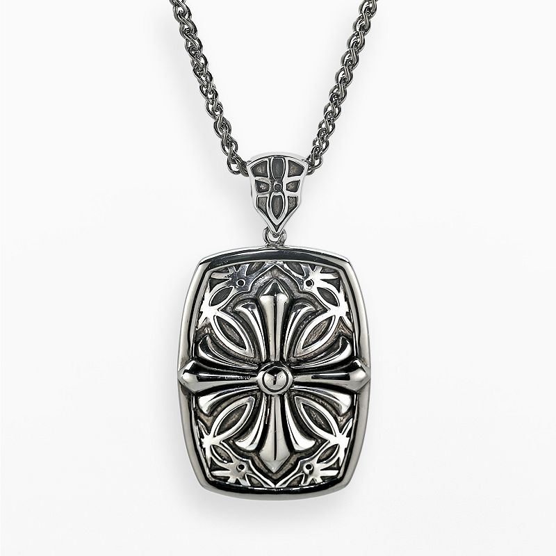 Mens sterling silver necklace kohl 39 s for Kohls jewelry mens rings