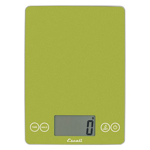 Escali Arti Metallic Glass Kitchen Scale