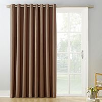 Sun Zero Mercer Blackout Patio Door Window Curtain - 100