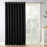 Sun Zero Ludlow Blackout Patio Door Window Curtain - 100