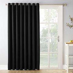 Sun Zero Ludlow Blackout Patio Door Window Curtain - 100' x 84'