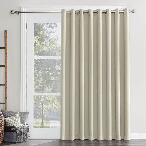 Sun Zero Ludlow Blackout Patio Door Window Curtain - 100