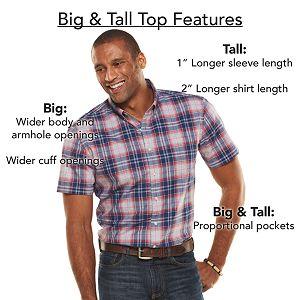 Big & Tall Dickies Classic-Fit Heavyweight Tee