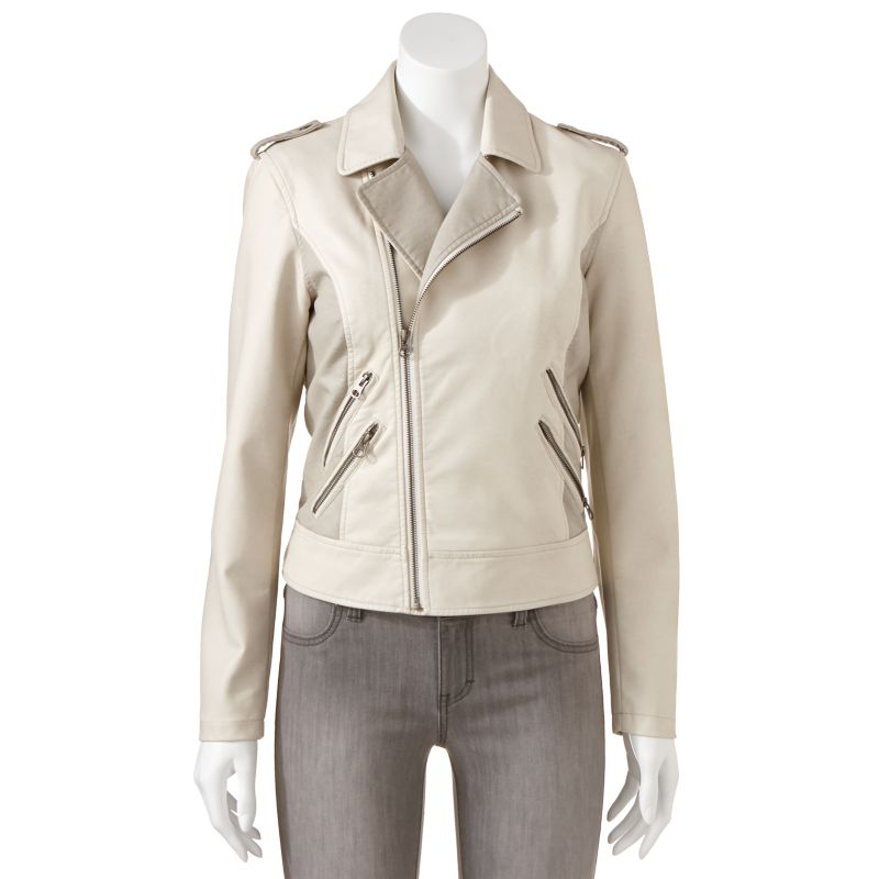 Apt 9 leather jacket