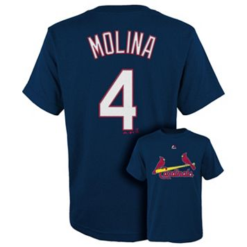 Boys 8-20 Majestic St. Louis Cardinals Yadier Molina Tee