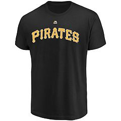 Men's Majestic Pittsburgh Pirates Official Wordmark Tee